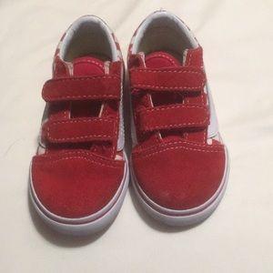 Toddler boy Vans shoes
